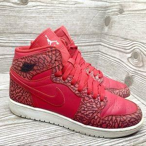 AIR JORDAN 1 RETRO HIGH elephant print gym red